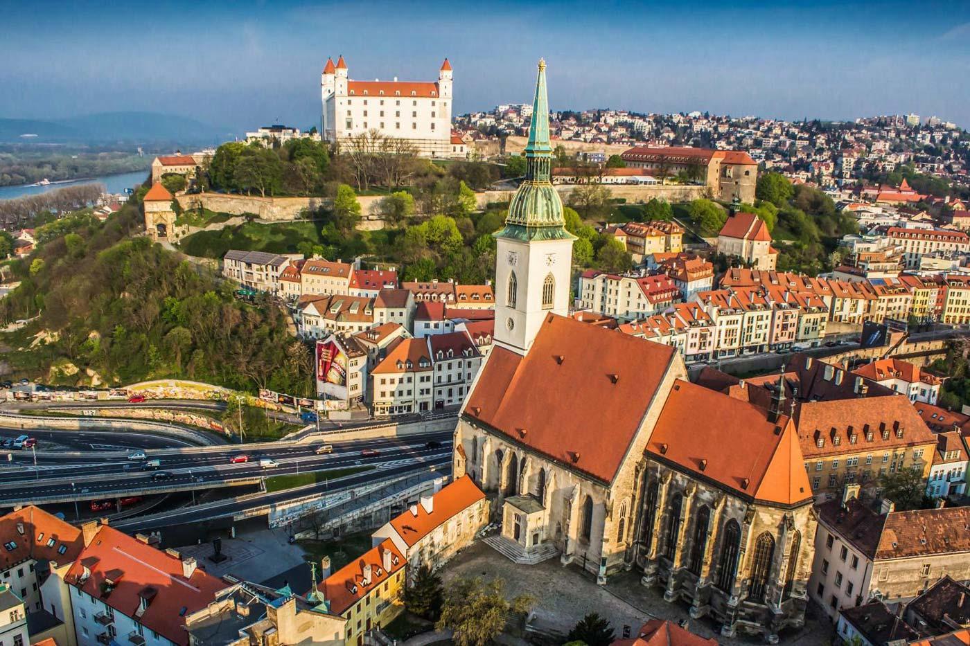 Братислава. 3 маршрута по столице Словакии