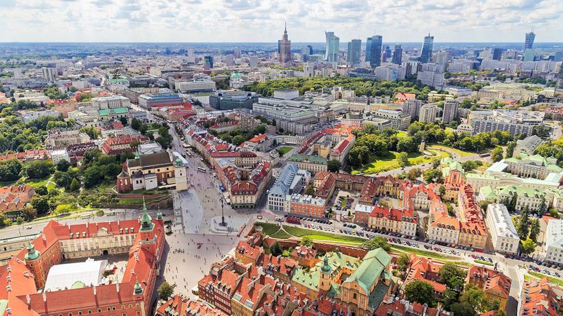 Варшава. 3 маршрута по столице Польши